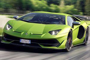 Lamborghini Aventador SVJ chính thức lộ diện, mạnh nhất từ trước đến nay