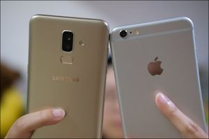 So sánh ảnh chụp Galaxy J8 và iPhone 6 Plus, chọn máy nào?