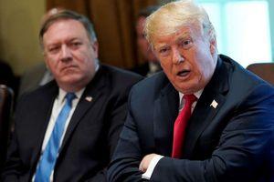 Trump nói chuyến thăm Triều Tiên của Pompeo bị hủy vì Trung Quốc