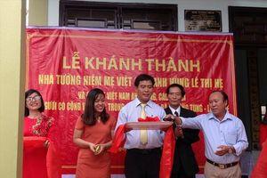 Hỗ trợ xây dựng nhà thờ cúng 5 Mẹ Việt Nam Anh hùng và 7 liệt sĩ
