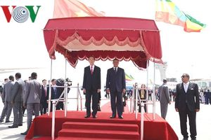 Toàn cảnh chuyến thăm của Chủ tịch nước Trần Đại Quang tới Ethiopia
