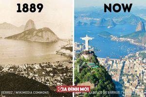 13 hình ảnh ngày xưa và bây giờ của các thành phố nổi tiếng thế giới, Hàn Quốc thay đổi chóng mặt