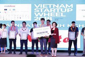 Meete đạt giải nhất cuộc thi Vietnam Starup Wheel 2018
