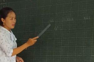Bộ GD&ĐT chấp nhận cách đánh vần 'lạ' cho học sinh lớp 1