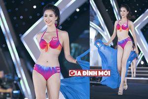 Cận cảnh màn trình diễn bikini của các thí sinh Hoa hậu Việt Nam 2018