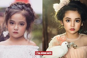 Diệp Lâm Anh 7 tuổi nổi bật với thần thái 'sinh ra để làm hoa hậu'