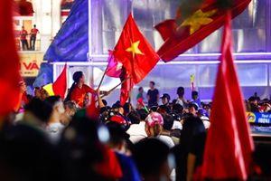 Hơn 500 Cảnh sát bảo vệ trật tự sau trận Việt Nam - Syria