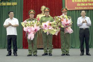 Công an tỉnh Bình Định có thêm 3 phó Giám đốc