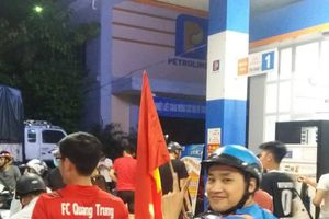 Hà Tĩnh: Hàng loạt cây xăng 'thất thủ' sau chiến thắng của U23 Việt Nam