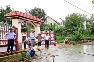 Thái Nguyên: Xã Vạn Phái tập trung cao độ đảm bảo về đích nông thôn mới 2018