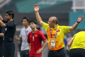 HLV Park Hang-seo xin nhận trách nhiệm sau trận thua Hàn Quốc