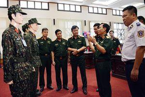 Cận cảnh quân phục dã chiến 2018 của Lục quân Việt Nam