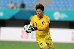 Hàn Quốc phập phồng lo lắng ở vị trí thủ môn