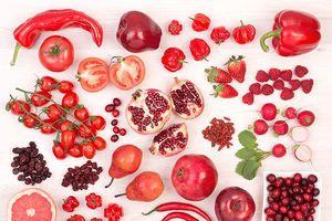 Trái cây và rau màu đỏ có lợi cho sức khỏe như thế nào?