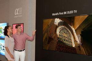 LG ra mắt TV OLED 8K kích thước 88 inch đầu tiên trên thế giới tại IFA 2018