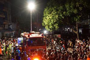 Thanh Hóa: Cháy lớn trong đêm, nhiều nhà dân bị lửa thiêu rụi