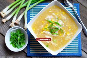 Cách nấu súp ngô thịt gà ngọt thơm nhiều dinh dưỡng cho bữa sáng