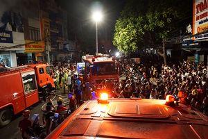 Cháy lớn tại trung tâm TP.Thanh Hóa, cả khu phố náo loạn
