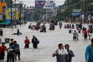 Vỡ đập ở Myanmar khiến 54.000 người phải sơ tán
