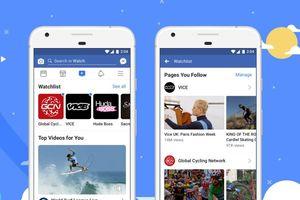 Facebook Watch chính thức ra mắt trên toàn cầu, cạnh tranh với YouTube