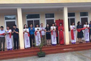 Khánh thành nhà công vụ cho giáo viên tỉnh Hòa Bình