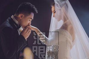 Video ghi lại trọn vẹn hôn lễ đẹp như giấc mơ của Trương Hinh Dư với quân nhân trẻ tuổi