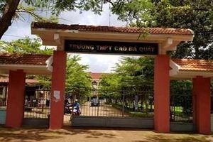 Nam sinh ở Đắk Lắk gọi người lạ đến đánh thầy giáo tại trường