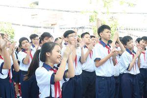Trường học đầu tiên tại TP.HCM tổ chức lễ khai giảng