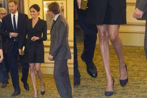 Mặc váy trên gối, Meghan Markle phá vỡ nguyên tắc Hoàng gia Anh
