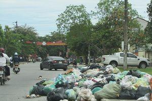 Đức Thọ (Hà Tĩnh): Rác thải 'bủa vây' khu dân cư