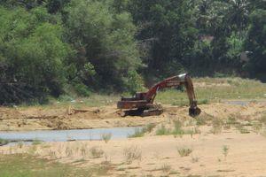 Bình Định: Công ty TNHH Tín Đại Lộc ngang nhiên khai thác đất sét vượt độ sâu trái phép
