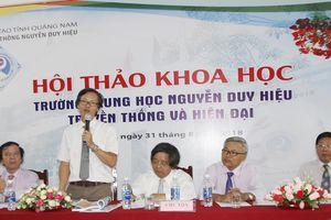 Trường trung học Nguyễn Duy Hiệu – truyền thống và hiện đại
