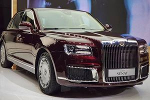 Cận cảnh Aurus Senat - siêu xe sang Rolls-Royce Nga