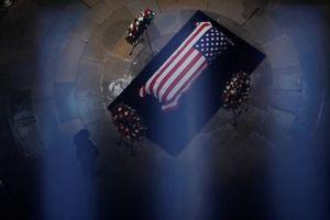 Tang lễ Thượng nghị sĩ John McCain được cử hành trang trọng tại Điện Capitol