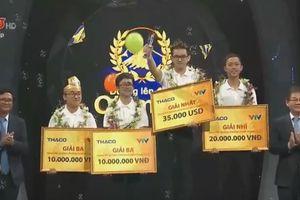 Học sinh Quảng Ninh lội ngược dòng vô địch Đường lên đỉnh Olympia 2018