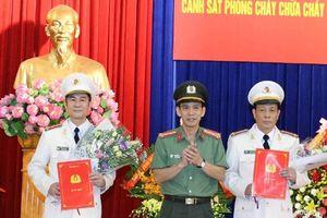 Trao quyết định bổ nhiệm 2 Phó giám đốc Công an tỉnh Quảng Ninh