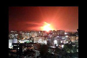 Phòng không Syria đập tan vụ không kích của Israel gần Damascus?