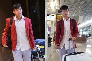 U23 Việt Nam cực bảnh bao di chuyển lên chuyên cơ riêng, dự kiến 12h30 sẽ có mặt tại Nội Bài