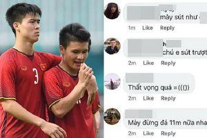 Sút hỏng quả penalty trong trận tranh huy chương đồng ASIAD 18, Quang Hải bị cổ động viên quá khích lăng mạ là kẻ 'tội đồ'