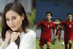 Thu Minh hẹn gặp Olympic Việt Nam tại Mỹ Đình: 'Các em vẫn là anh hùng trong tim chị'