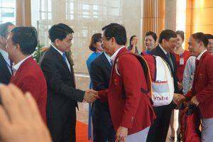 Nhiều lãnh đạo cấp cao đón Olympic Việt Nam trở về từ ASIAD 2018