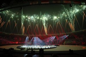 Bế mạc ASIAD 18: Jack Ma cùng dàn tiên nữ mời châu Á đến Trung Quốc