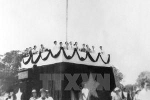 Người thiết kế Kỳ đài cho Lễ Tuyên ngôn Độc lập (2-9-1945)