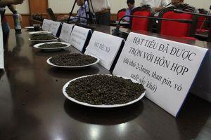 Kết luận vụ trộn phế phẩm cà phê, lõi pin vào tiêu để tăng trọng lượng
