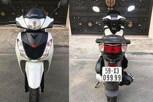 Soi Honda SH cũ biển 'tứ quý' giá 400 triệu tại Sài Gòn