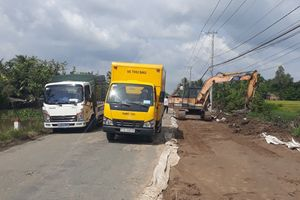 Kiên Giang: Nguời dân hiến đất mở đường, góp phần kiềm chế TNGT