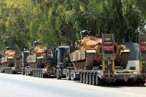 Thổ Nhĩ Kỳ điều động khí tài tới mặt trận Idlib