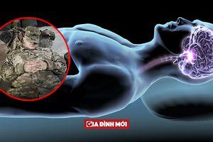 Mẹo hay của quân đội giúp bạn chìm vào giấc ngủ nhanh trong 2 phút