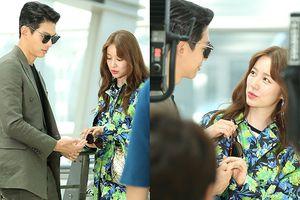 'Love Watch': Ảnh hậu trường hiếm hoi của Yoon Eun Hye và diễn viên 'Hoàng hậu Ki' sau 5 năm vắng bóng