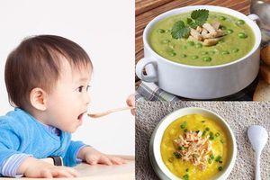 Các món cháo ăn dặm bổ dưỡng cho trẻ 9 tháng tuổi tăng cân vượt chuẩn